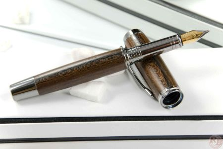 "Fountain Pen ""RB Elegance"" black Titanium"
